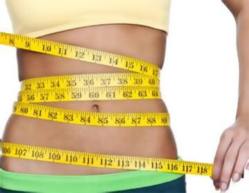 жир области живота боков